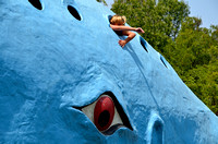 GIRL TRAPPED IN BLUE WHALE! (Rt 66 Catoosa OK)