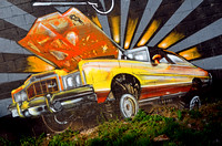 70S CHEVY MURAL (Rt 66 Chicago IL)