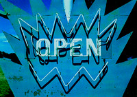 OPEN NEON (Rt 66 Tucumcari NM)