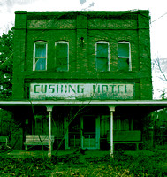 CUSHING HOTEL, KEEP OUT (Cushing TX)