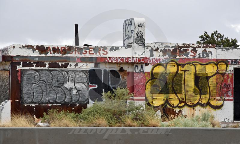 TWIN ARROWS DINER (I-40/Rt 66 Twin Arrows AZ)