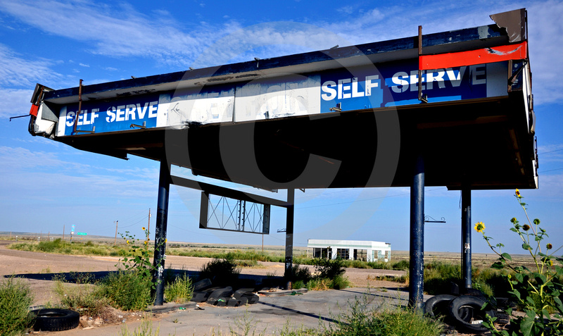 CHEVRON TEXACO (Rt 66 Glenrio TX/NM)