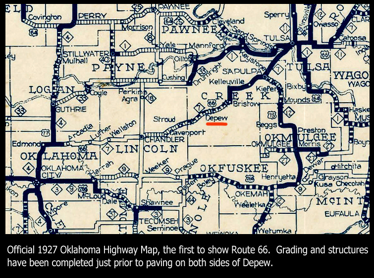 1927 OK Highway Map Depew_edited-1