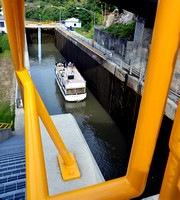 DOWN AND EASTBOUND (Erie Canal Lockport NY)