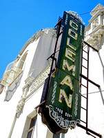 COLEMAN THEATRE SIGN & BALCONY (Rt 66 Miami OK)
