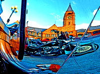 DEPOT ON CHROME (Lincoln Highway Cheyenne WY)