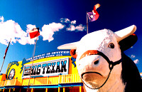 BIG TEXAN AND COW (Rt 66 Amarillo TX)