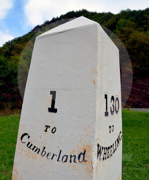 1 TO CUMBERLAND (National Road MD)