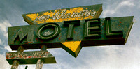 LOS ALAMITOS MOTEL SIGN (Rt 66 Grants NM)