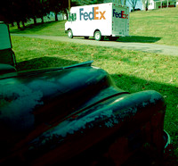 TODAY'S FREIGHT-WAGON (FEDEX) (National Road OH)