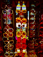 SUNGLASSES ON CART (Rt 66 Santa Monica Pier CA)