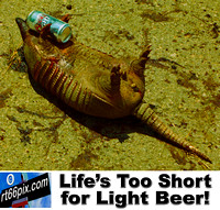 Life's Too Short for Light Beer!