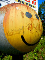 WE SELL, SMILEY FACE (nr Fordyce AR)