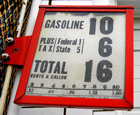 16 CENT GAS (Mobilgas Gravity Pump) (National Road Casey IL)