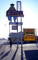 COWBOY MOTEL, VISITOR & SHADOWS (Rt 66 Amarillo TX)