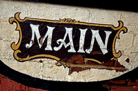 PAINTED MAIN (National Road Wheeling WV)