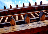 CHURCH BEAMS (Abiquiu NM)