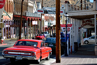 DOWN THE STREET (Virginia City NV)