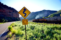 EASTBOUND & UP (Lincoln Highway Echo Canyon UT)