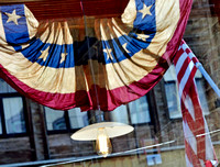 BUNTING, FLAG & BULB (Virginia City NV)