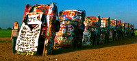 JEN YOU HAVE BEEN THE GREATEST, SHE SAID YES (Rt 66 Cadillac Ranch TX)