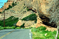 NOTCH IN ROCK #2 (Lincoln Highway Echo Canyon UT)