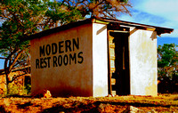 MODERN REST ROOMS (Rt 66 nr Endee NM)