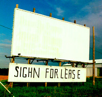 SIGHN FOR LEASE (West TX)