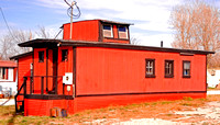 CONVERTED CABOOSE  (Rt 66 Galena KS)