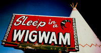 SLEEP IN A WIGWAM (Rt 66 Holbrook AZ)