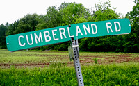 CUMBERLAND ROAD SIGN (National Road IL)