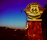 HISTORIC 66 SIGN (Rt 66 Rancho Cucamonga CA)