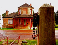 GATEPOST & TOLL HOUSE (National Road Addison PA)
