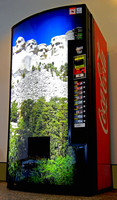 COKE MACHINE (Mt Rushmore SD)