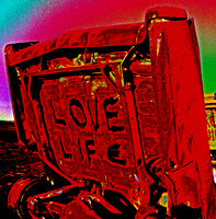 LOVE LIFE (Rt 66 Cadillac Ranch TX)