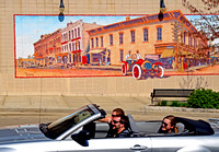 MURAL AND MUSTANG (Lincoln Highway Sterling IL)