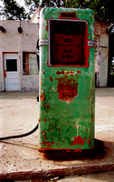 PHILLIPS 66 GREEN/ORANGE PUMP (Rt 66 Adrian TX)