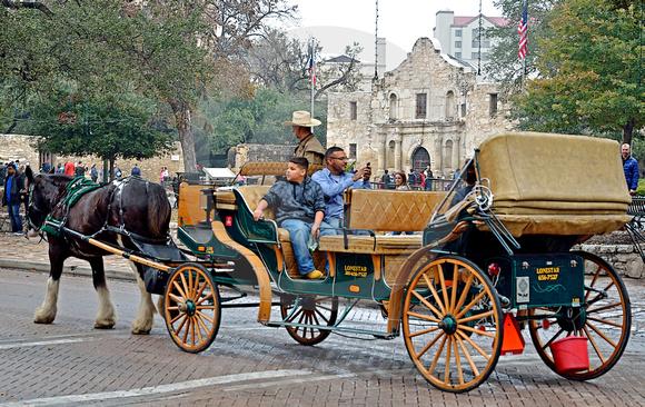 THE ALAMO #7 (San Antonio TX)