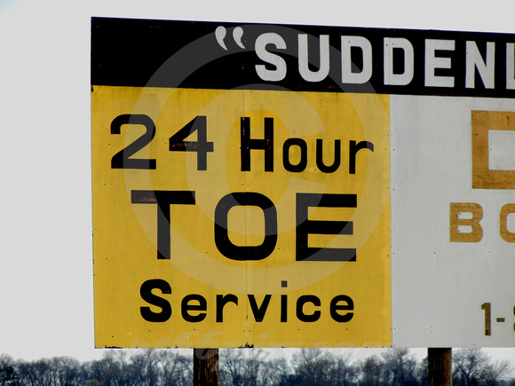 24 HOUR TOE SERVICE (nr Mitchell SD)