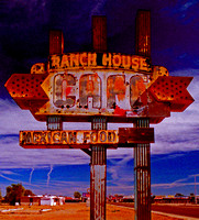 RANCH HOUSE CAFE SIGN (Rt 66 Tucumcari NM)