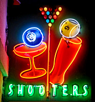 SHOOTERS NEON (Lincoln Highway Ely NV)