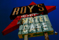 ROY'S SIGN #5 (West Side from Below) (Rt 66 Amboy CA)