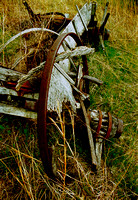 WAGON WHEEL AND AXLE (NE)