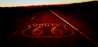 NIGHTFALL, ROUTE 66 (Rt 66 nr Amboy CA)