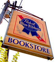 PABST BLUE RIBBON, BOOKSTORE (Rt 66 nr Carthage MO)