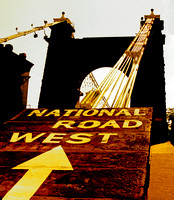 NATIONAL ROAD WEST, ARROW (National Road Wheeling WV)