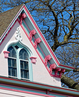 PINK & BLUE HOUSE (Lincoln Highway Morrison IL)