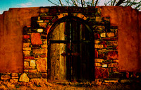 BACKYARD DOORWAY (Rt 66 Tucumcari NM)