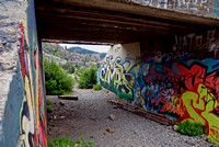 SUBWAY FROM BELOW (Lincoln Highway Donner Pass CA)